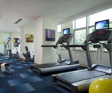 Fully-equipped Gymnasium & Aerobics Room
