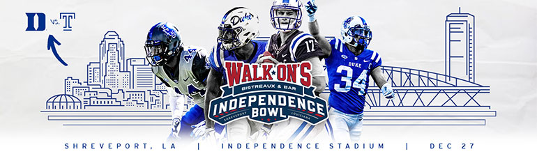"""Forever Duke """"Walk-On's Independence Bowl"""" Pregame Party"""
