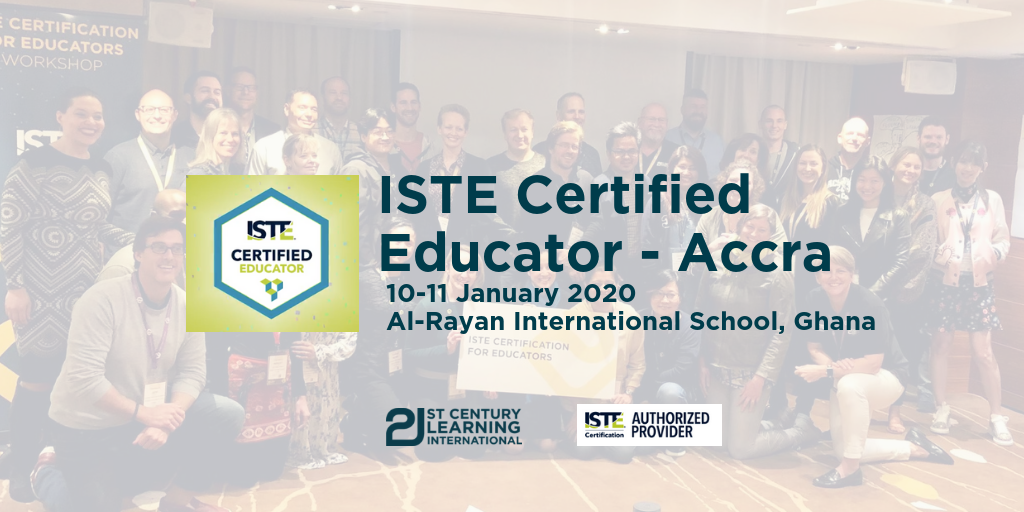 ISTE Certified Educator - Accra
