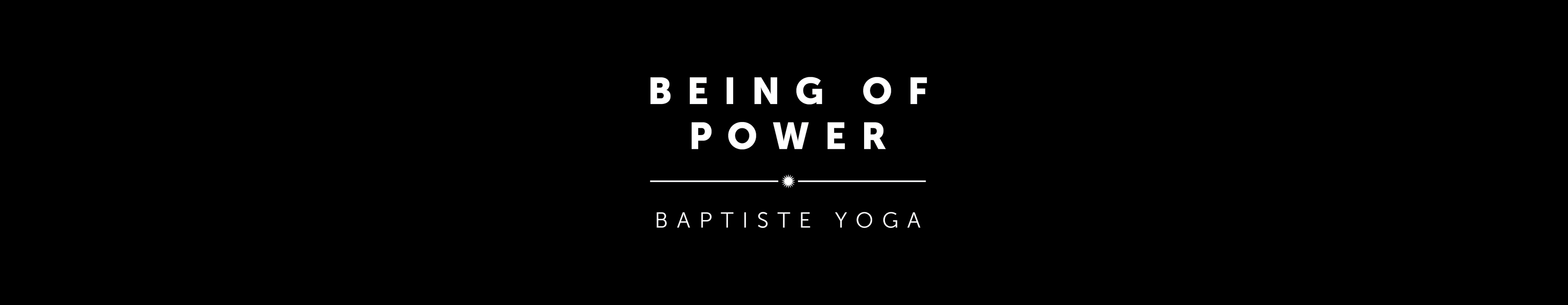 Spotted Dog Yoga | Being of Power