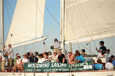 Sailing on the Schooner Woodwind