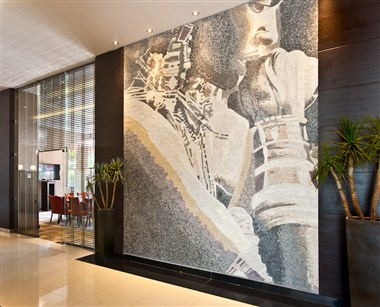 Artwork at the lobby