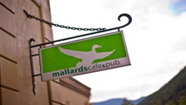 mallards cafe & pub Signage