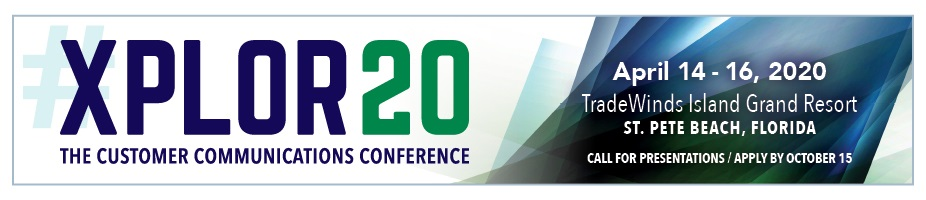 XPLOR20 Call for Presentations
