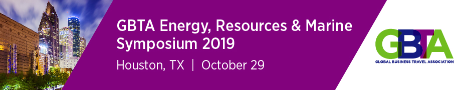 GBTA Energy, Resources & Marine Symposium 2019