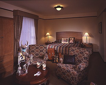 Plains Hotel Sleeping Room
