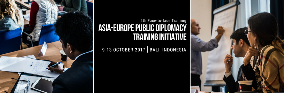 Asia-Europe Public Diplomacy Training Initiative - 5th Face-to-face Training