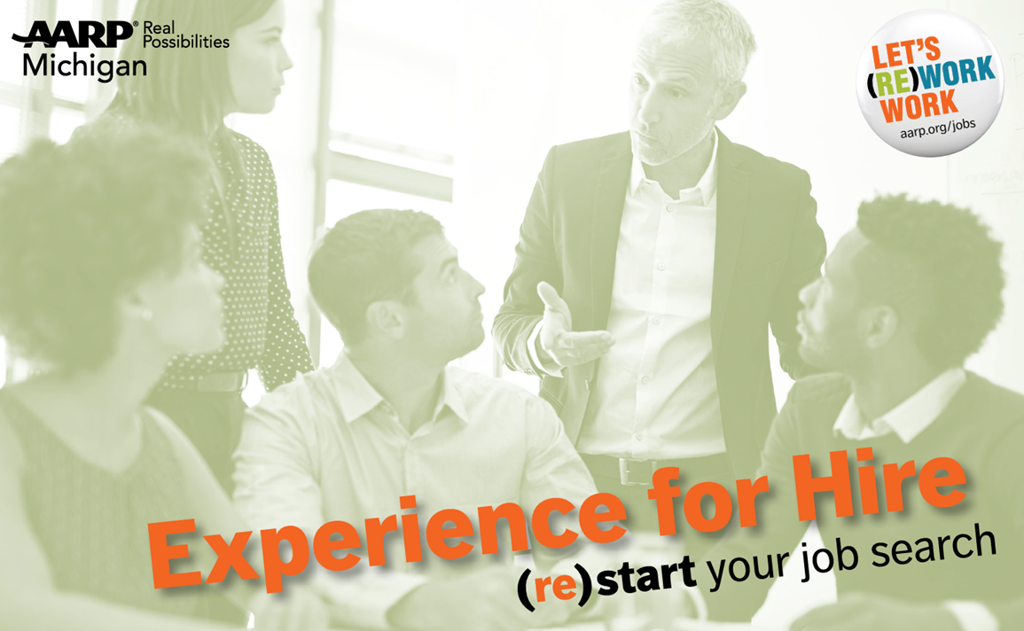 AARP MI, Experience For Hire Hiring Event (JOB SEEKERS), Lansing, MI 1/24/18