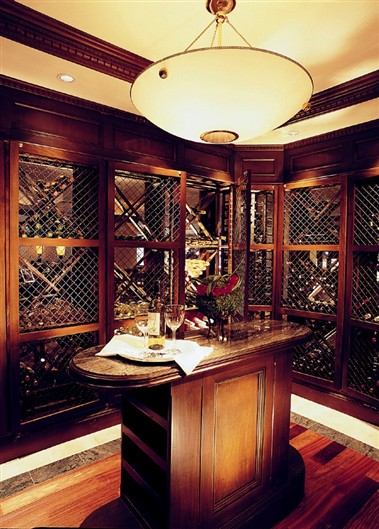 Capriccio Wine room