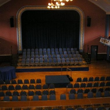 Main Hall Theatre Layout