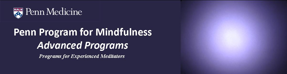 Summer 2017 Advanced Mindfulness Programs