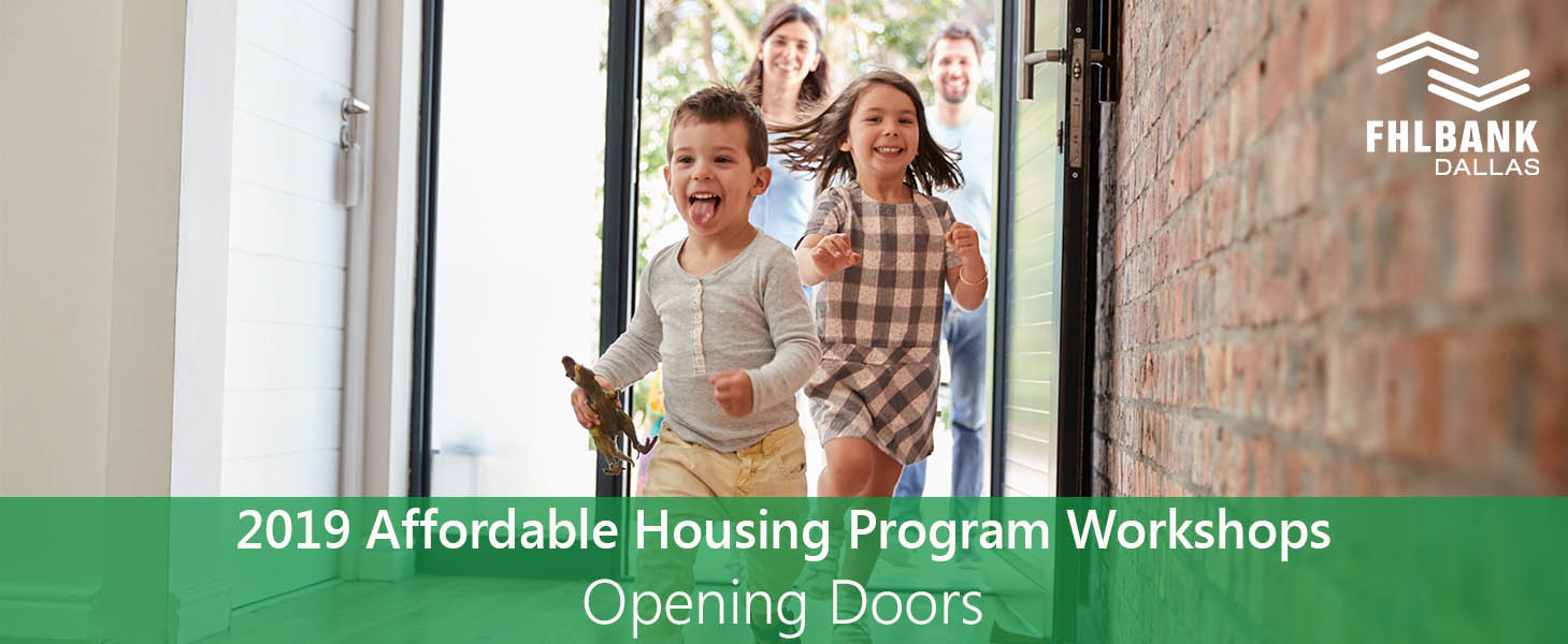2019 Affordable Housing Program Workshops