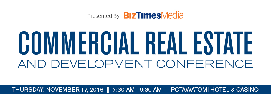 2016 Commercial Real Estate & Development Conference