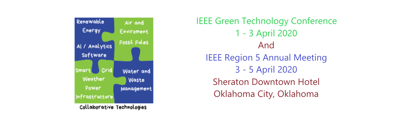2020 IEEE Green Technologies Conference(GreenTech)