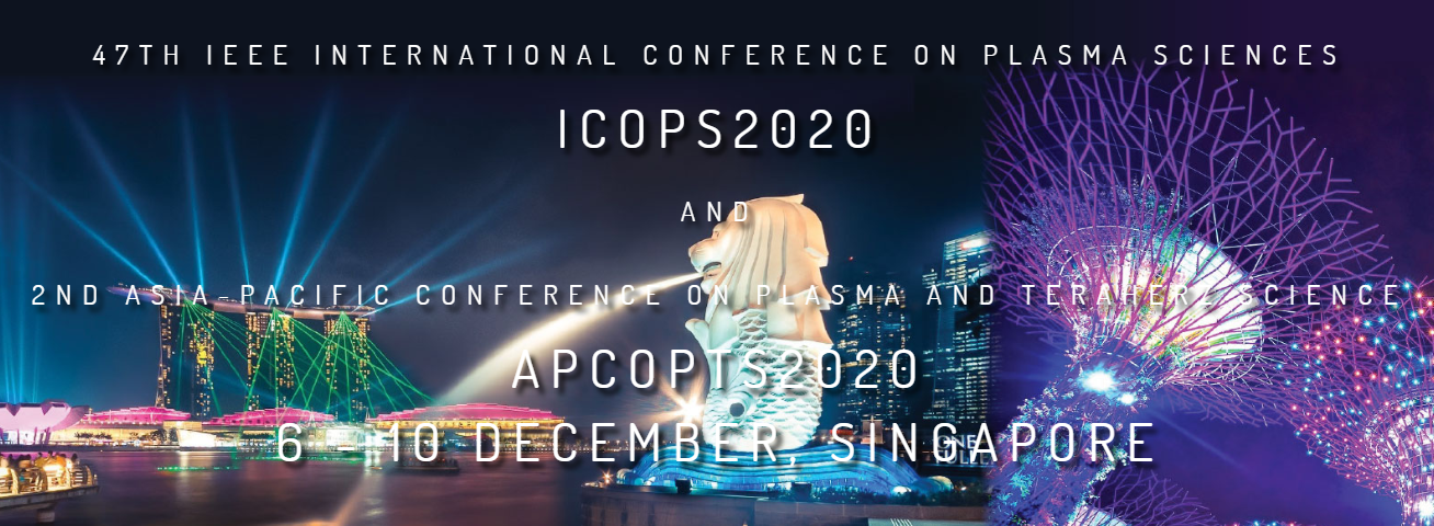 2020 IEEE International Conference on Plasma Science (ICOPS)