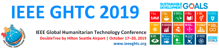 2019 IEEE Global Humanitarian Technology Conference (GHTC)