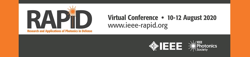 2020 IEEE Research and Applications of Photonics in Defense Conference (RAPID)