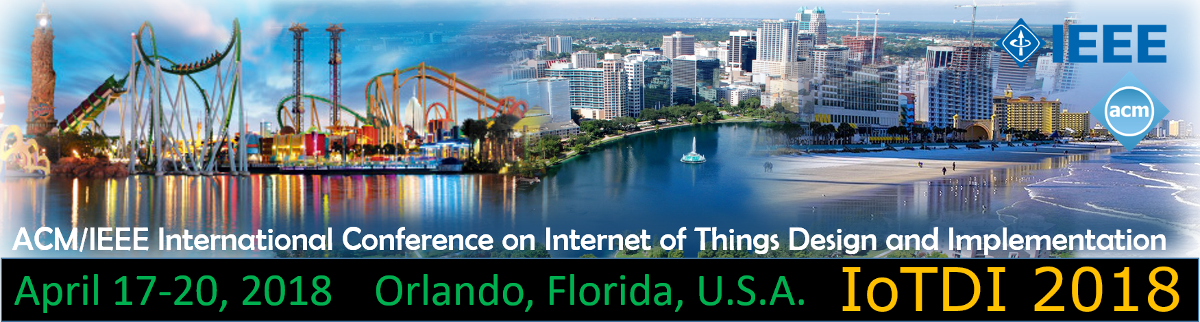 2018 IEEE/ACM Third International Conference on Internet-of-Things Design and Implementation (IoTDI)