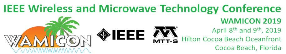 2019 IEEE 20th Wireless and Microwave Technology Conference (WAMICON)