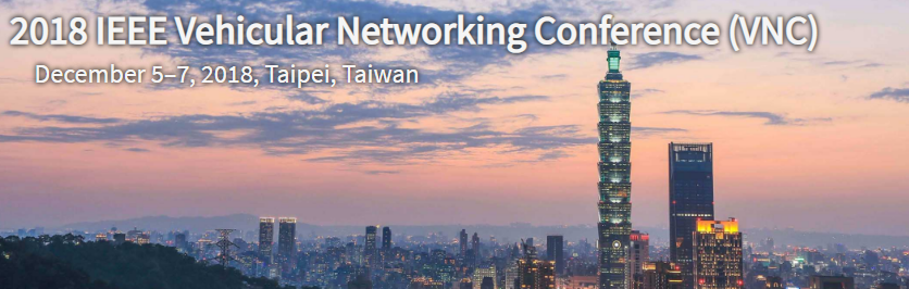 2018 IEEE Vehicular Networking Conference (VNC)