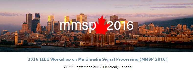 2016 IEEE 18th International Workshop on Multimedia Signal Processing (MMSP)