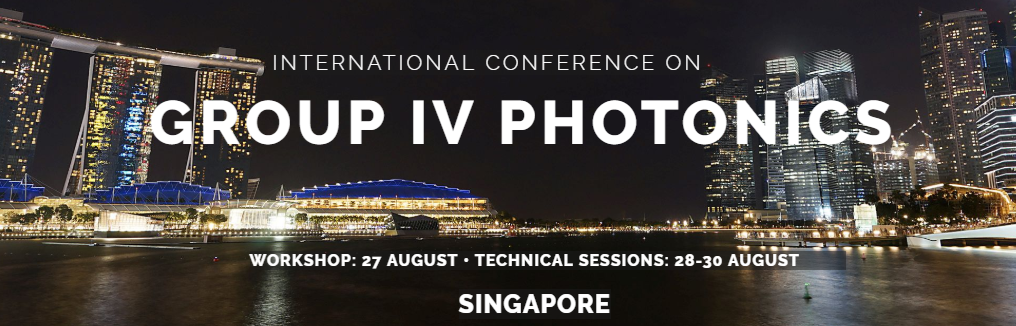 2019 IEEE 16th International Conference on Group IV Photonics (GFP)