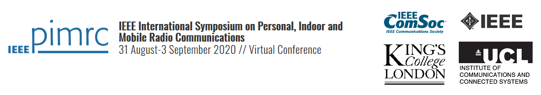 2020 IEEE 31st Annual International Symposium on Personal, Indoor and Mobile Radio Communications (PIMRC)