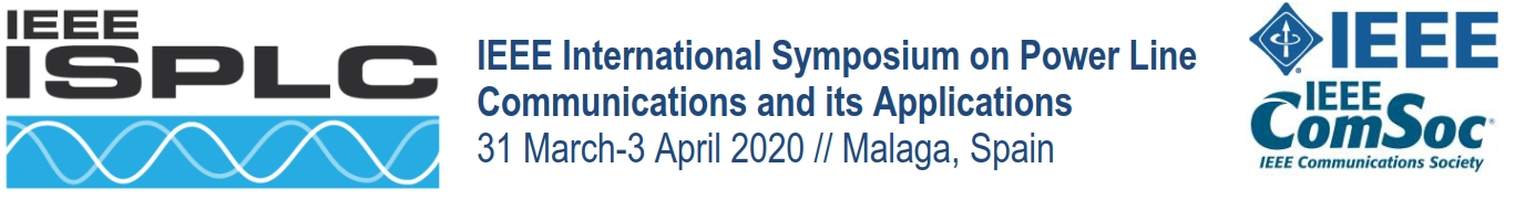 2020 IEEE International Symposium on Power Line Communications and its Applications (ISPLC)