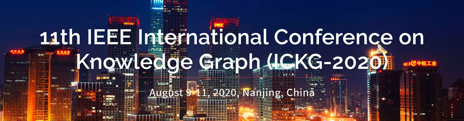 2020 IEEE International Conference on Knowledge Graph (ICKG)
