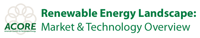 Renewable Energy Landscape: Market & Technology Overview