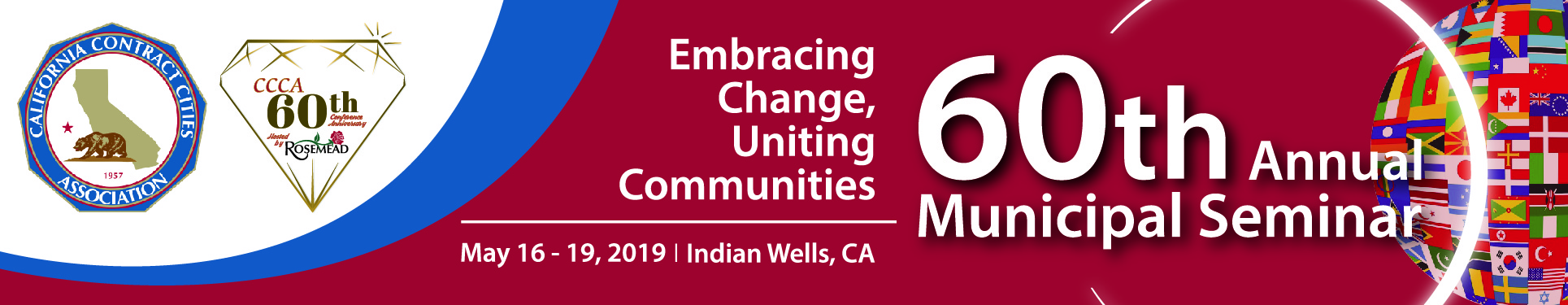 California Contract Cities 60th Annual Municipal Seminar: Embracing Change, Uniting Communities