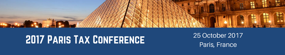 2017 Paris Tax Conference