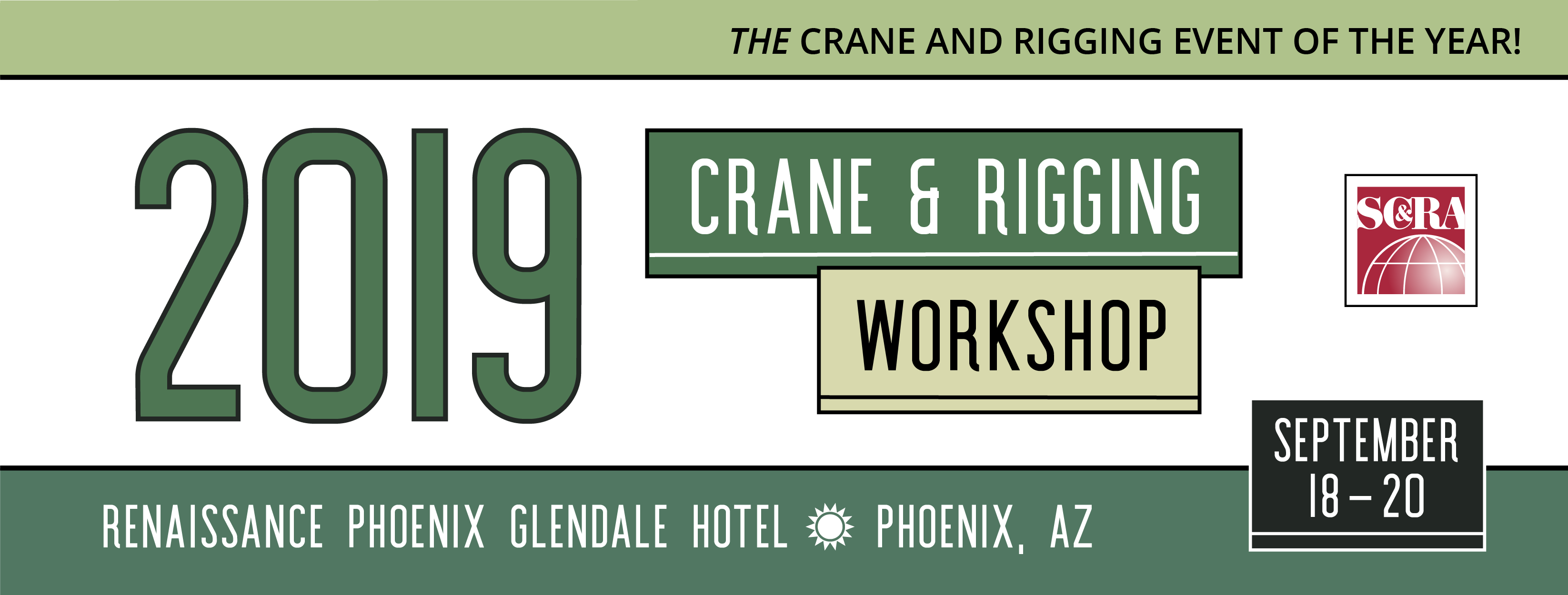 2019 Crane & Rigging Workshop