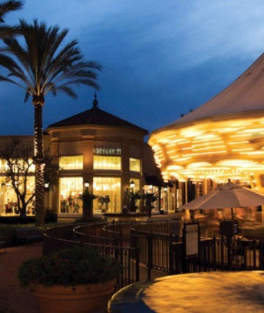 Irvine Spectrum Center Carousel