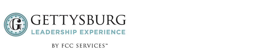 2019 May Open Enrollment - The Gettysburg Leadership Experience