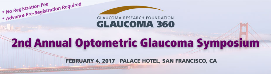 2017 Glaucoma 360 - Optometric Glaucoma Symposium