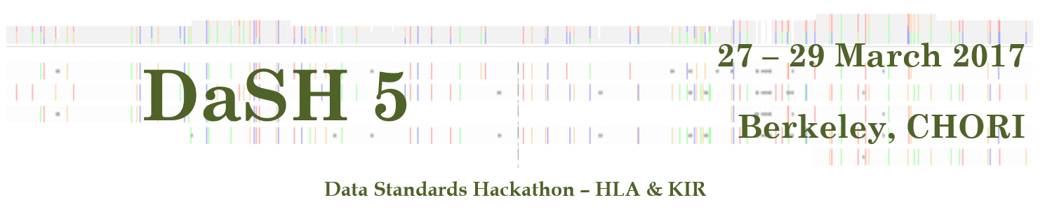 2017 Data Standards Hackathon - HLA & KIR