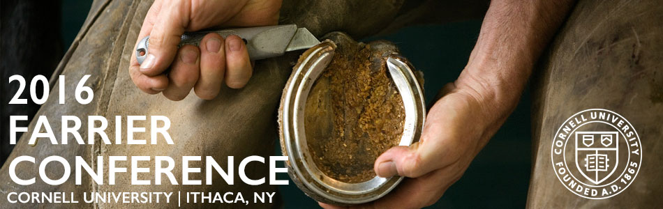 2016 Cornell Farrier Conference