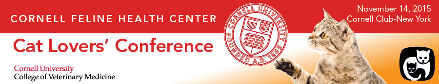 Cornell Feline Health Center's                                                                                    Cat Lovers' Conference