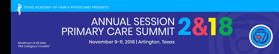 Annual Session & Primary Care Summit