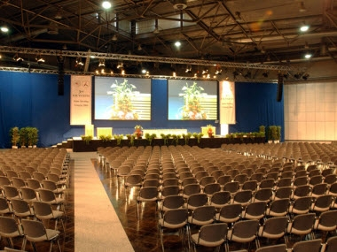 CCL Messehalle Auditorium