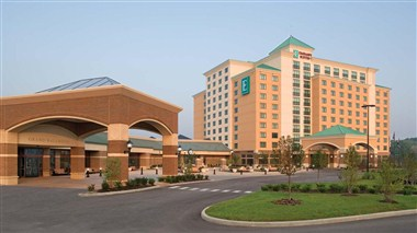 St Charles Convention Center and Embassy Suites