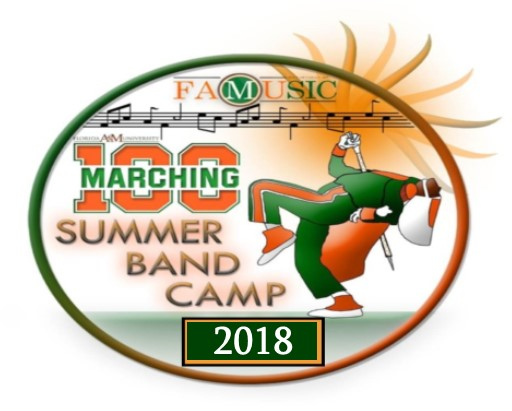 "Marching ""100"" Summer Band Camp 2018"
