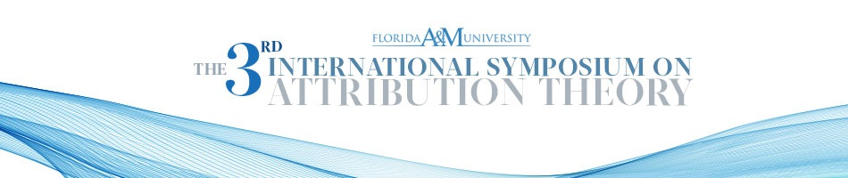 The Third international Symposium on Attribution Theory
