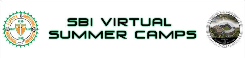 "SBI Virtual Summer Camp - Financial ""College Prep 101"""
