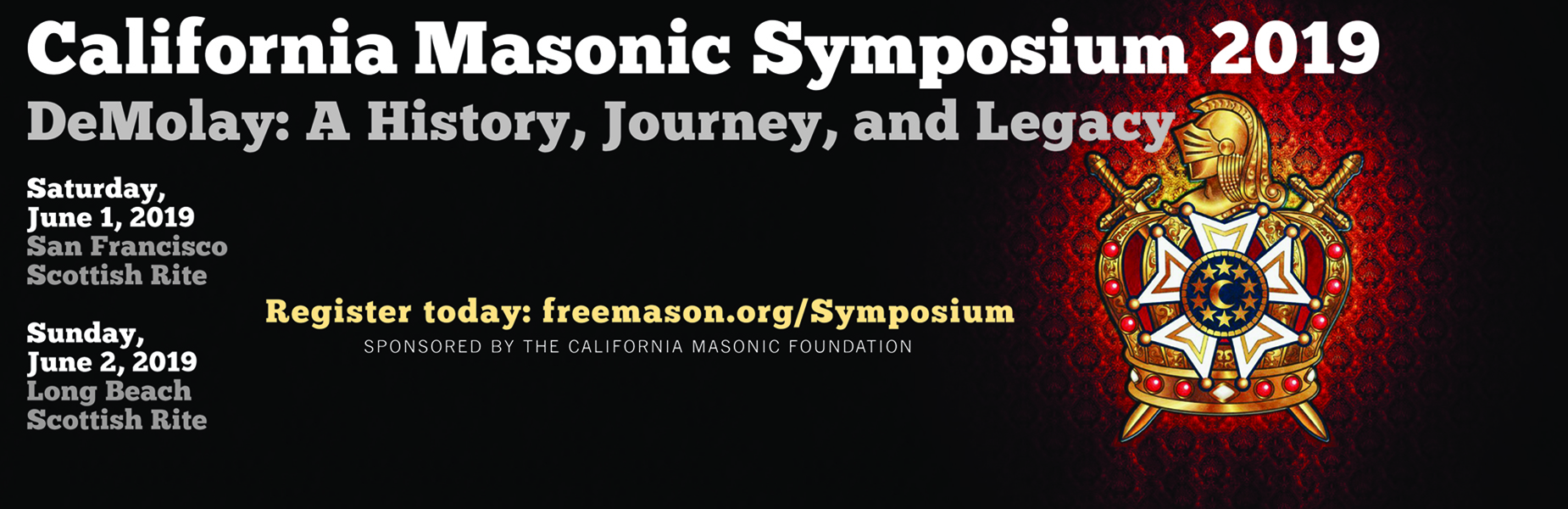 19th Annual California Masonic Symposium