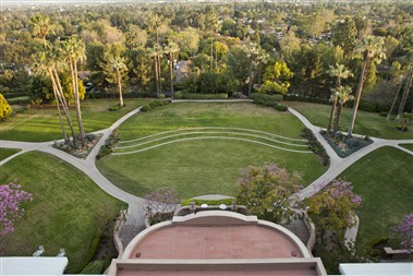 Horseshoe Garden - Ariel View