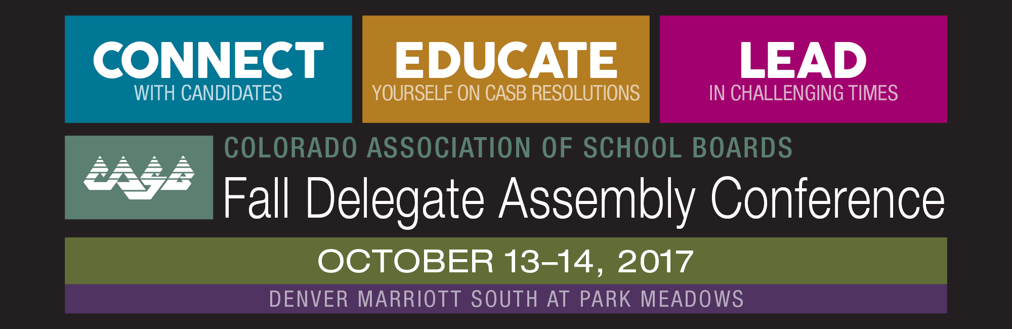 2017 CASB Fall Delegate Assembly Conference
