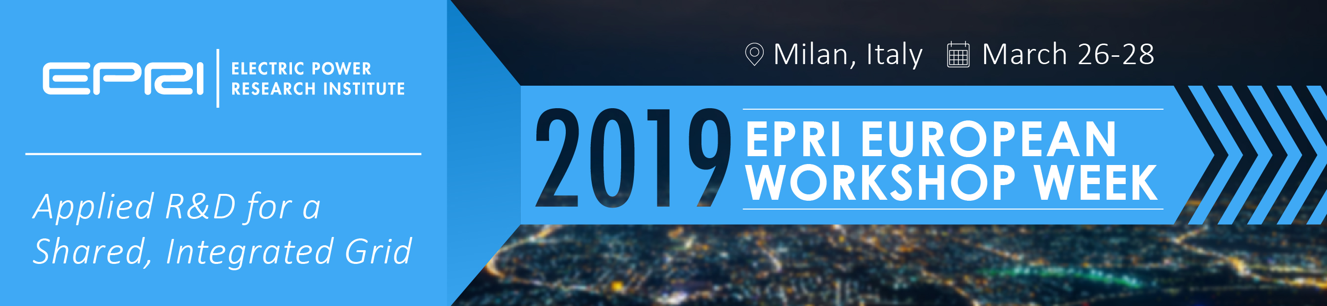 2019 EPRI European Workshop Week