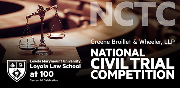 2020 Greene Broillet & Wheeler National Civil Trial Competition